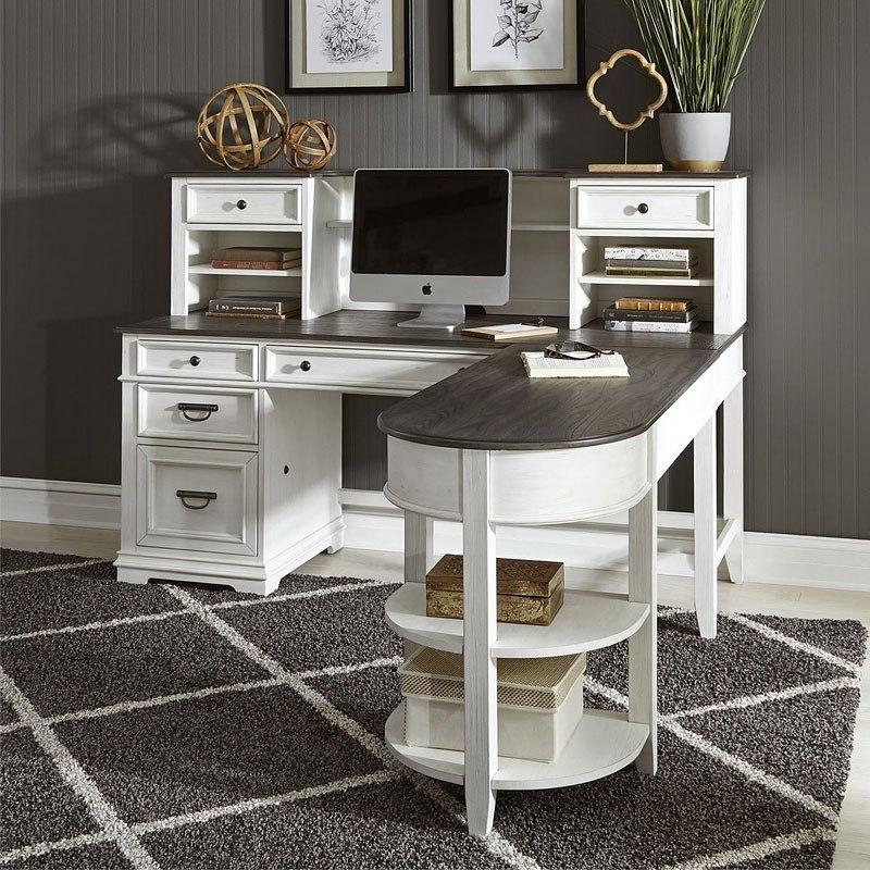 Allyson Park Jr. Executive L Shaped Home Office Set ...