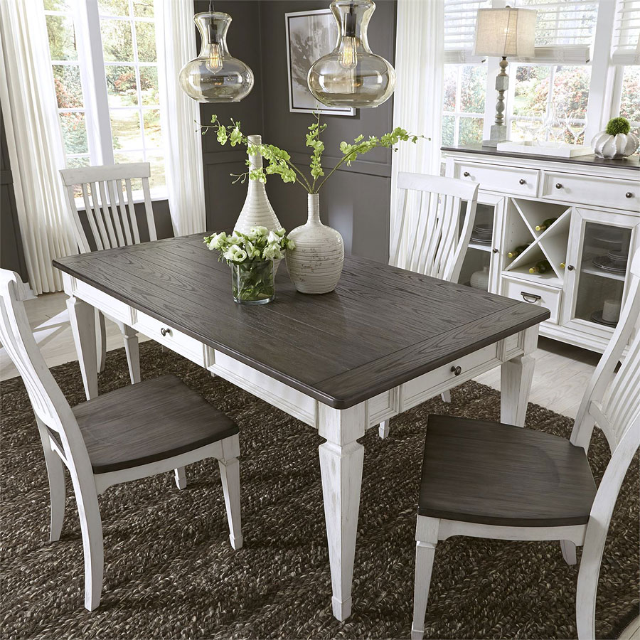 Liberty Dining Room Furniture: Allyson Park Rectangular Dining Room Set Liberty Furniture