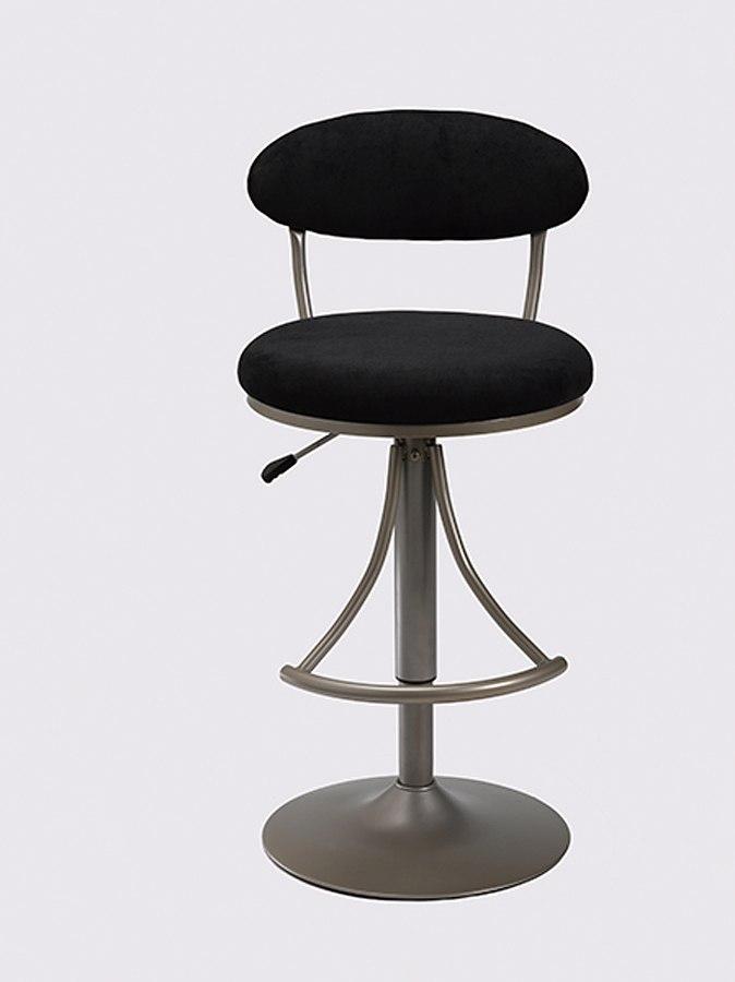Venus Adjustable Barstool Black Hillsdale Furniture