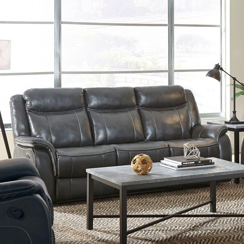Avalon Reclining Sofa W Drop Down Center Standard