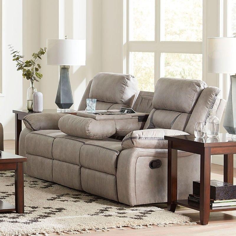 Acropolis Reclining Sofa W Drop Down