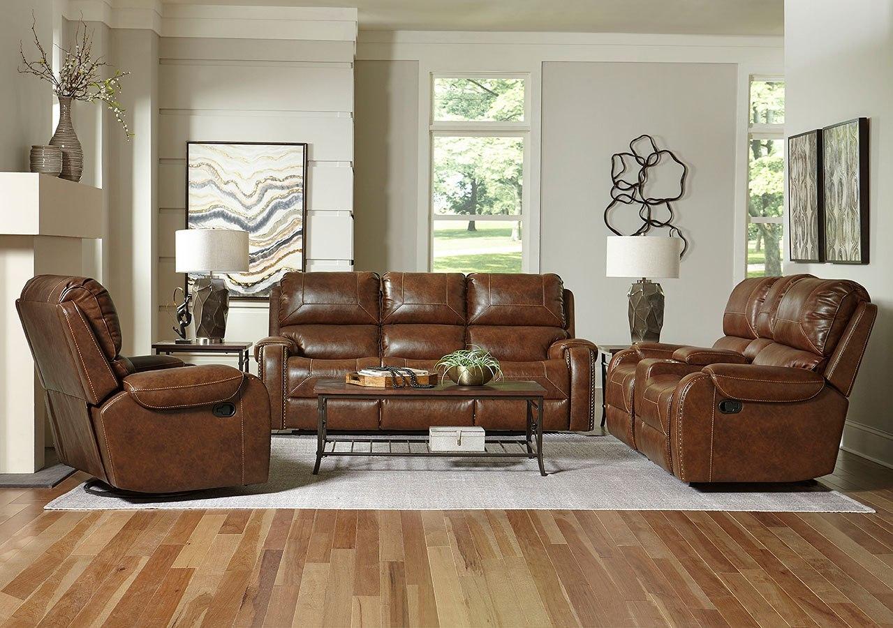Winslow Reclining Living Room Set Standard Furniture