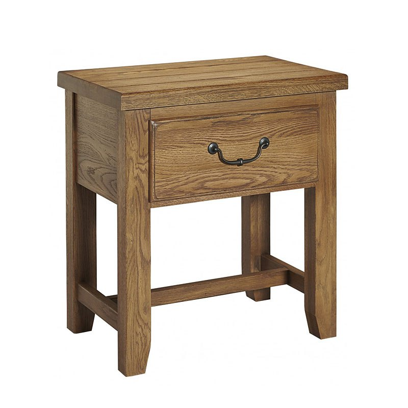 American Oak Night Table (Honey Oak)