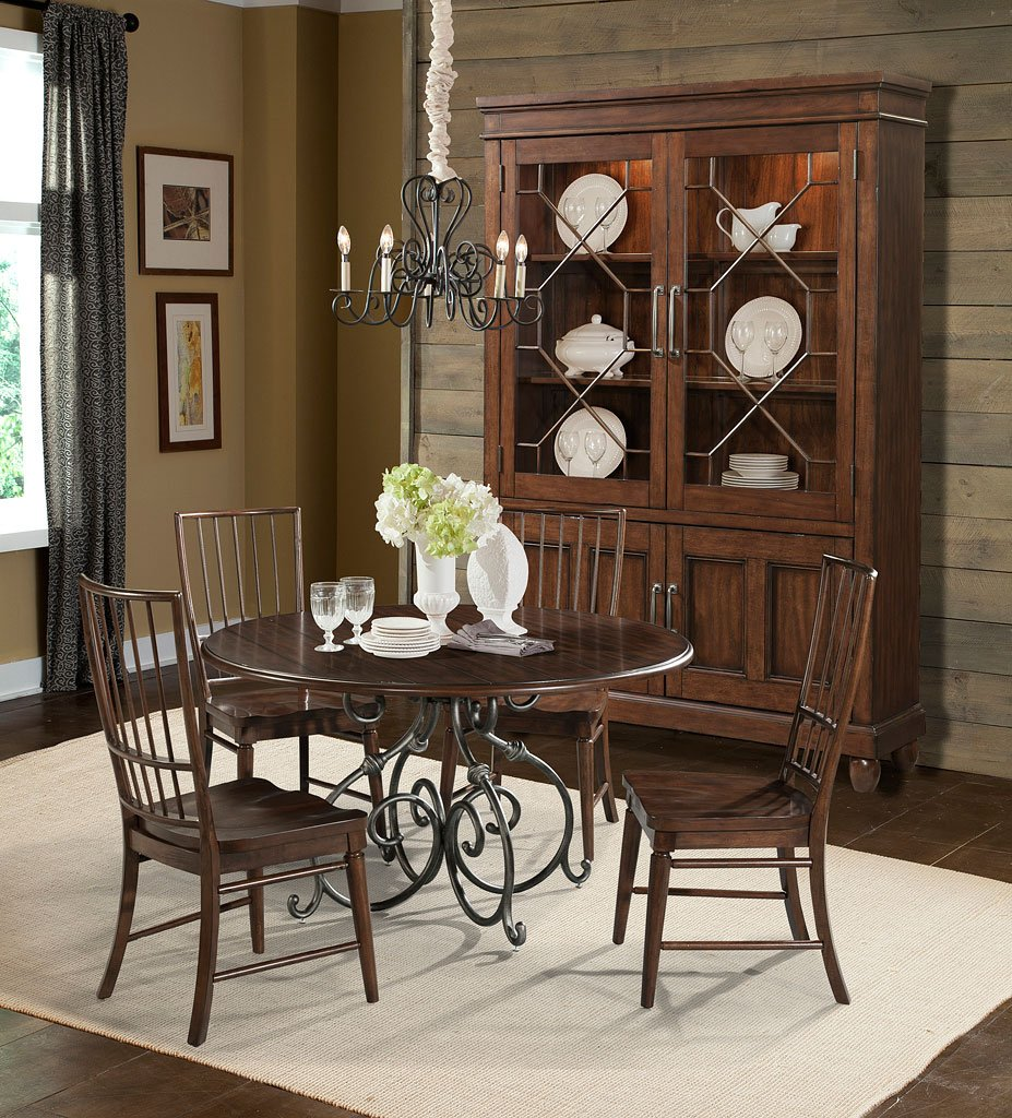 Merveilleux Blue Ridge Calabash Dining Room Set