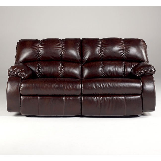 Knockout DuraBlend - Redwood 2-Seat Reclining Sofa w/ Power
