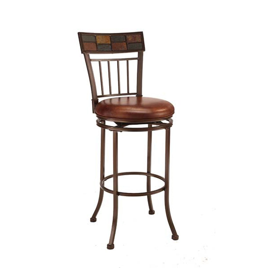 Montero Swivel Counter Height Stool Hillsdale Furniture