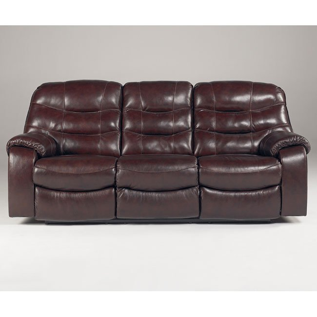 Rourke - Burgundy Reclining Sofa Signature Design, 1 Reviews ...