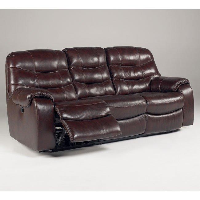 Rourke - Burgundy Reclining Sofa