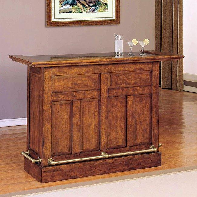 Ashley Furniture In Brandon Fl: Brandon Warm Cherry Home Bar Powell Furniture