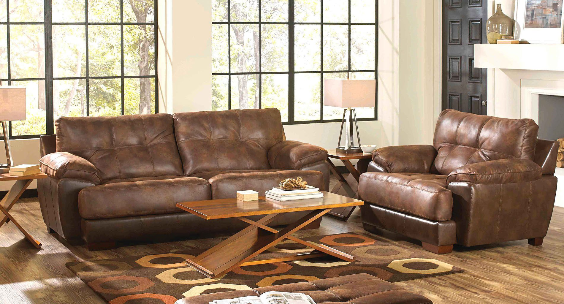 Drummond Living Room Set (Sunset)