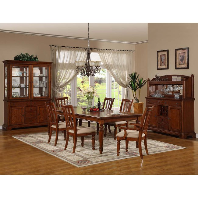 Cherry Dining Room Furniture: Pennsylvania Country Cherry Dining Room Set Vaughan