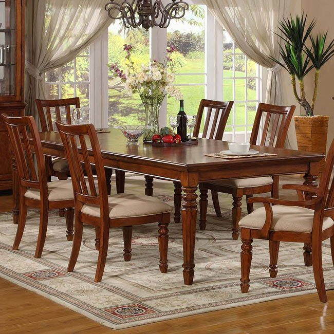 Cherry Dining Room Set: Pennsylvania Country Cherry Dining Room Set Vaughan