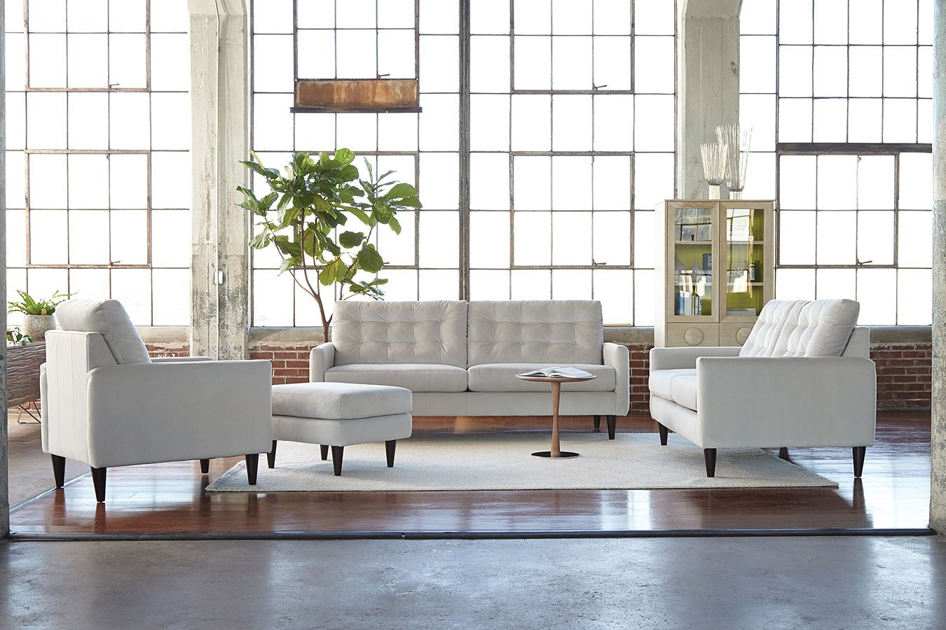 Delicieux Haley Living Room Set (Dove)