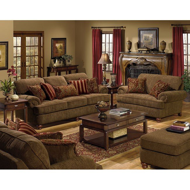 Belmont living room set jackson furniture 6 reviews - Living room sets for cheap prices ...