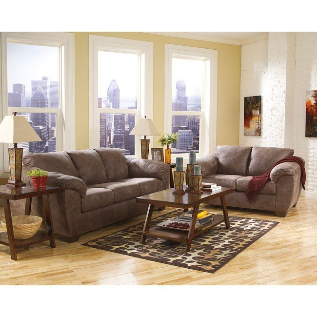 Jathan Mocha Living Room Set
