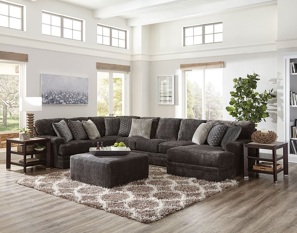 Mammoth Modular Sectional w/ Chaise (Smoke)