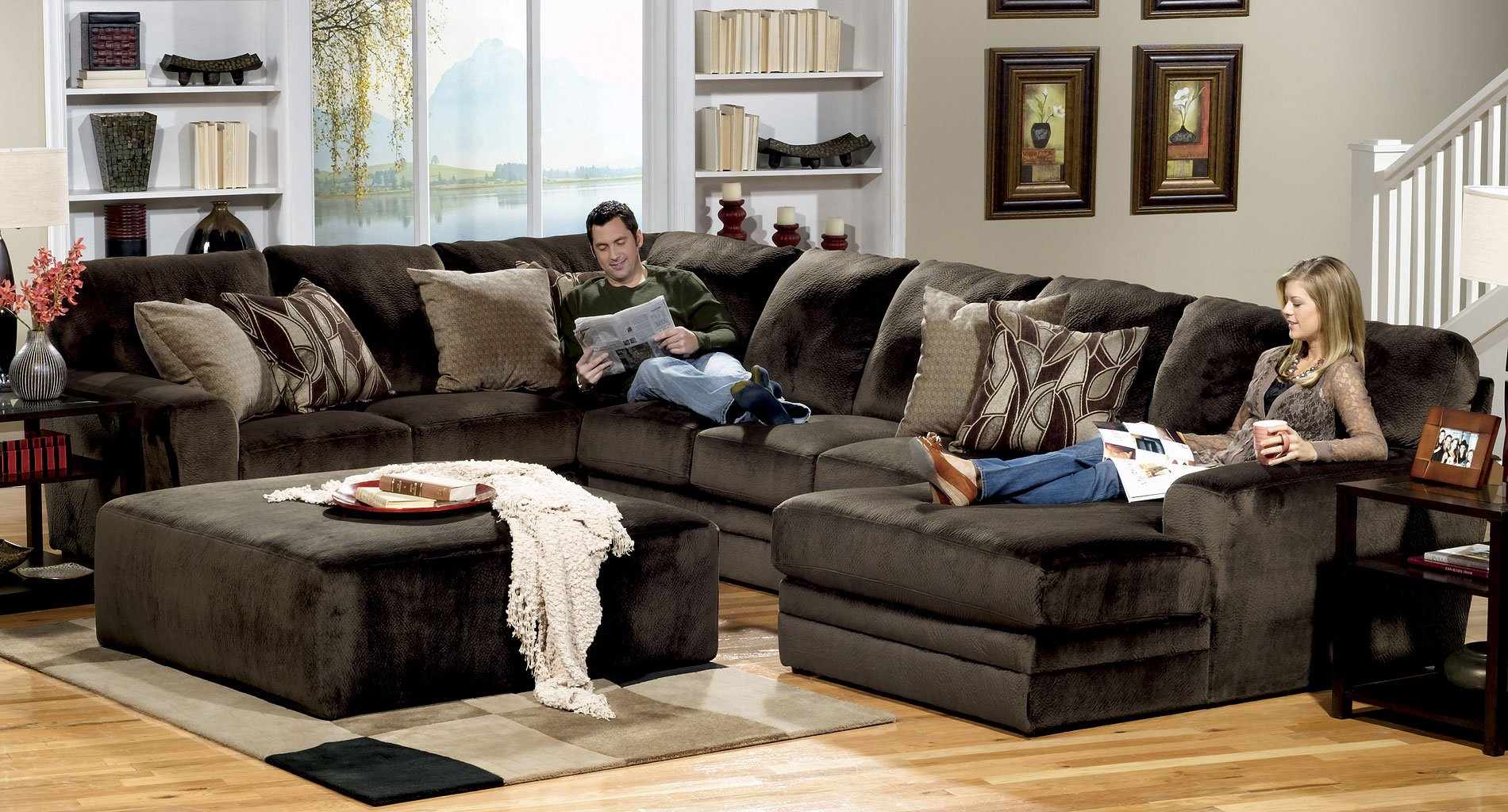 Everest Modular Sectional Set (Chocolate)
