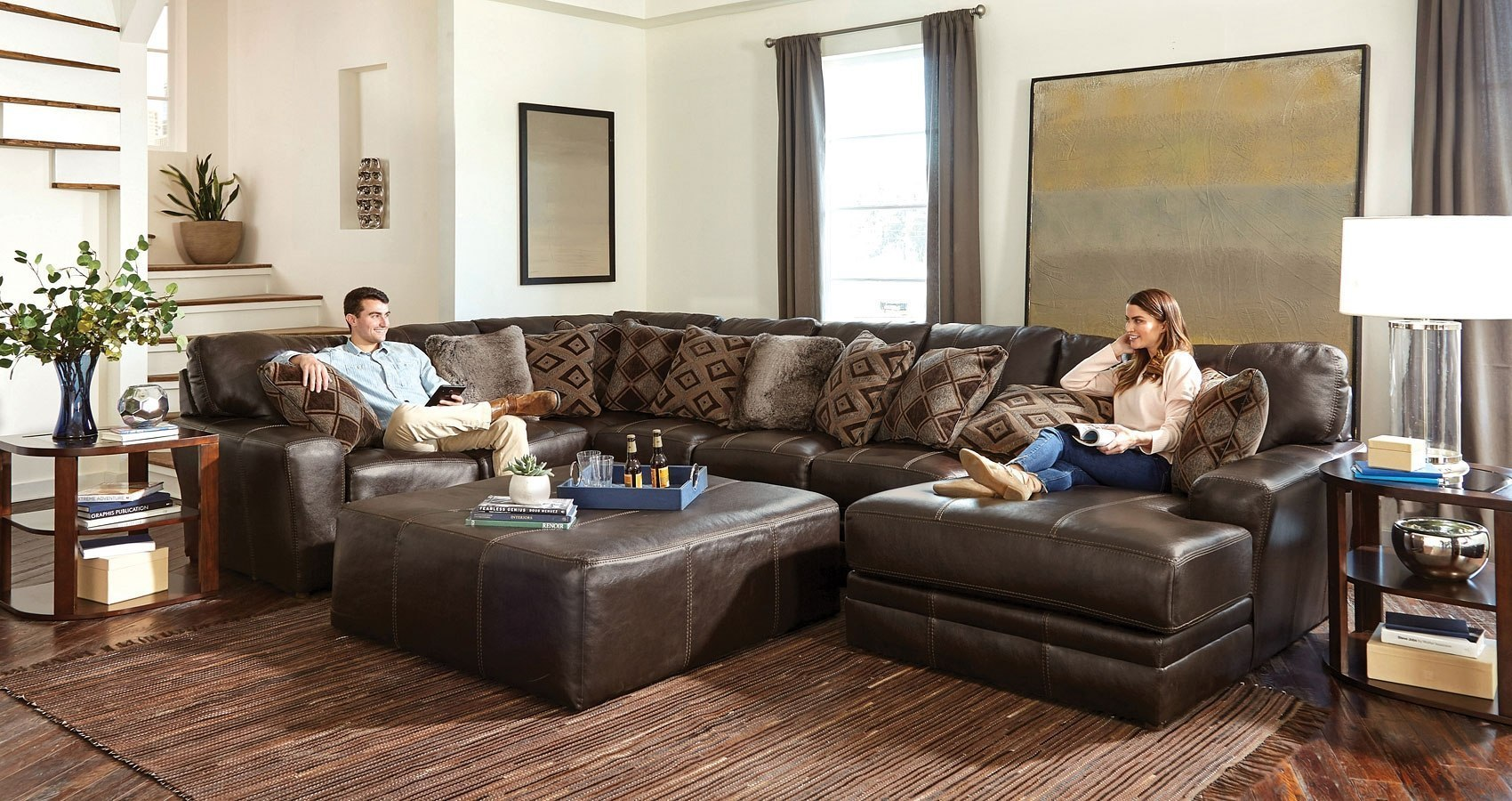 Superieur Denali Modular Sectional (Chocolate)