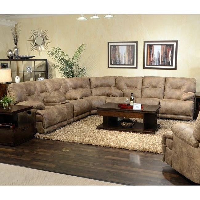 Voyager Lay Flat Reclining Sectional Catnapper Furniture
