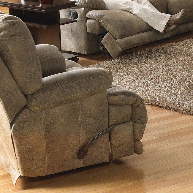 Voyager Lay Flat Power Reclining Living Room Set Catnapper