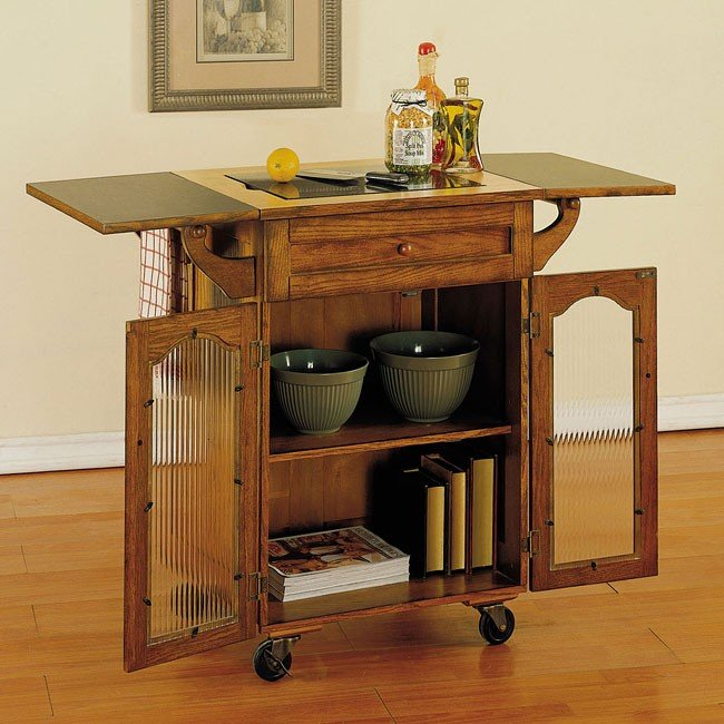 Noble Oak Kitchen Cart Powell Furniture | Furniture Cart on oak kitchen shelf, oak kitchen design, oak furniture, oak kitchen cupboards, oak kitchen stand, oak armoire, oak kitchen station, oak kitchen island, oak kitchen cabinet, oak kitchen wall, oak kitchen accessories, dining room cart,