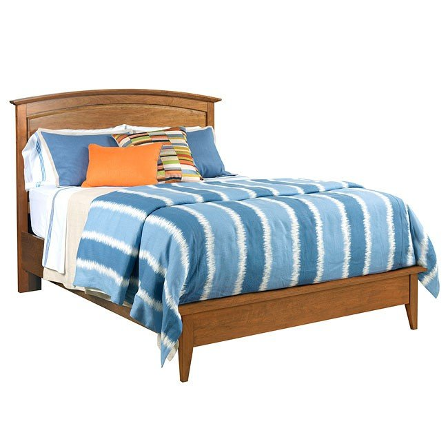 High Quality Gatherings Arch Panel Bedroom Set (Honey)