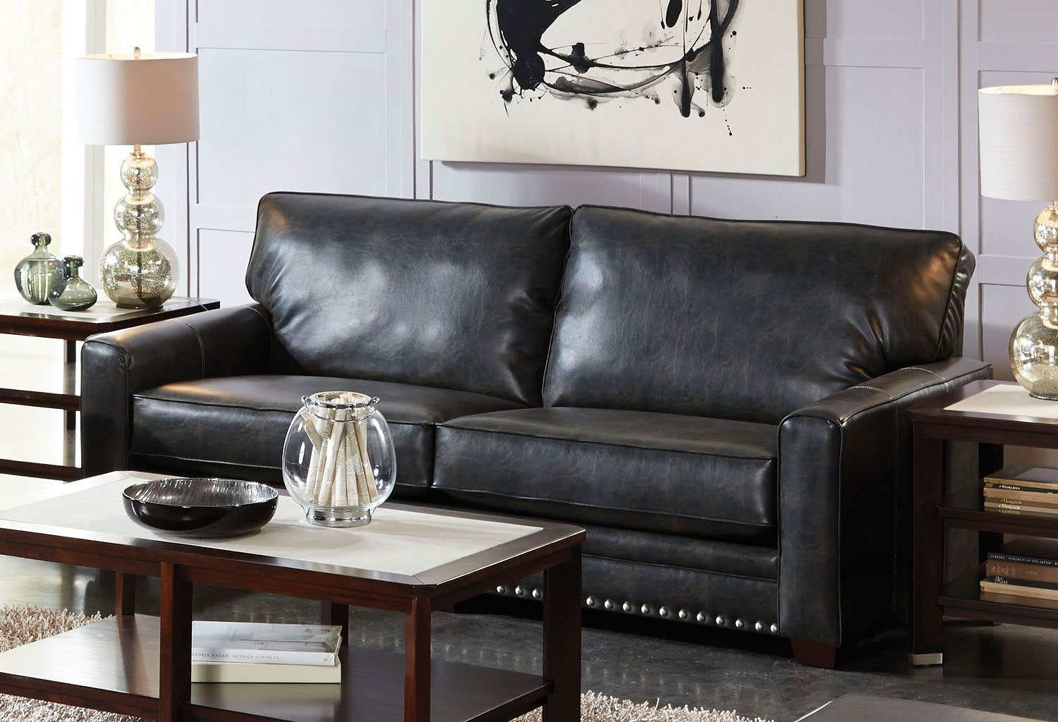Charmant Elmsford Sofa (Coal)