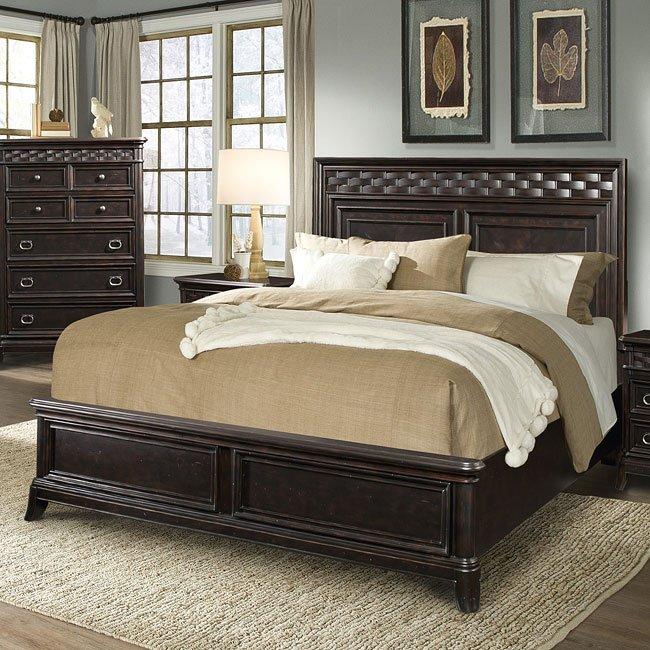 Park Avenue Panel Bed