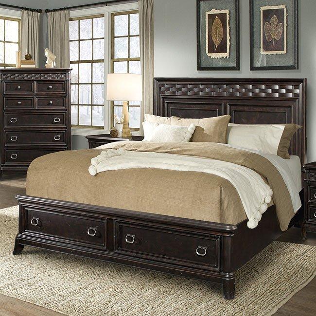 Park Avenue Storage Bed
