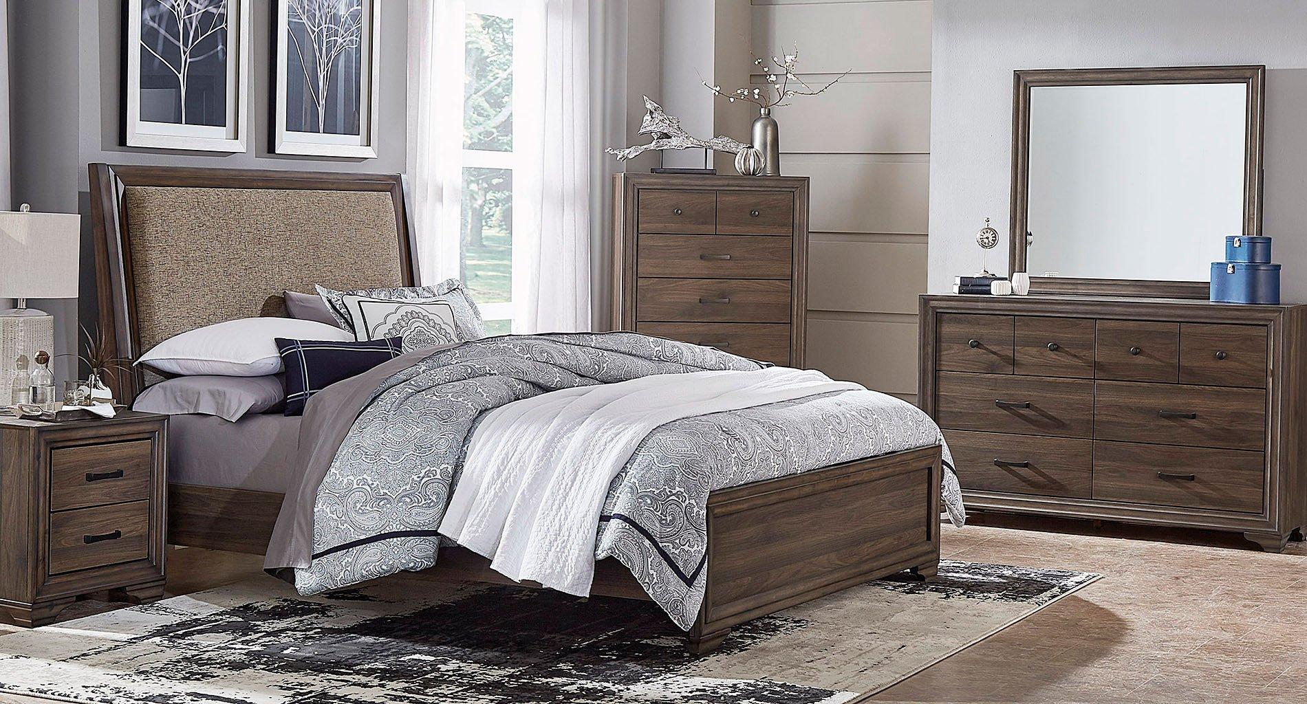 Clarksdale Upholstered Bedroom Set Liberty Furniture   Furniture Cart