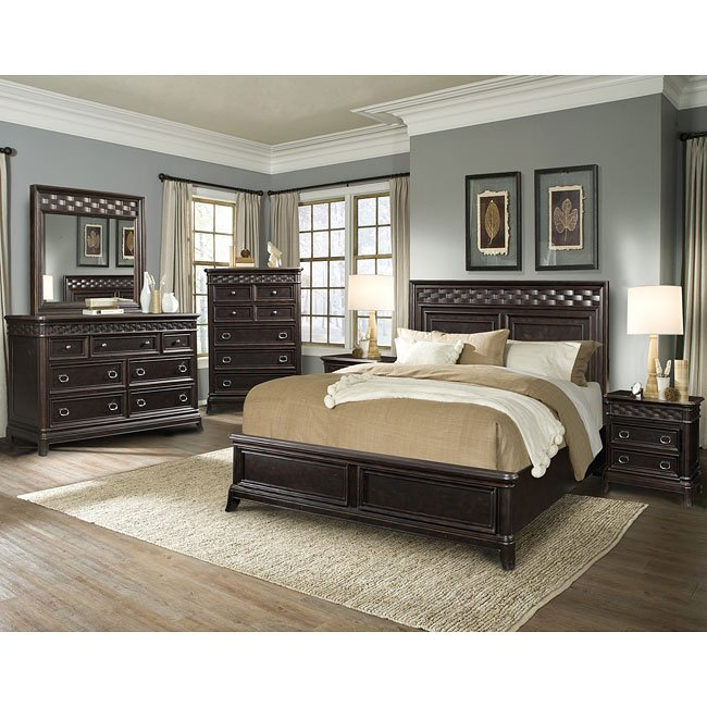 Park Avenue Panel Bedroom Set
