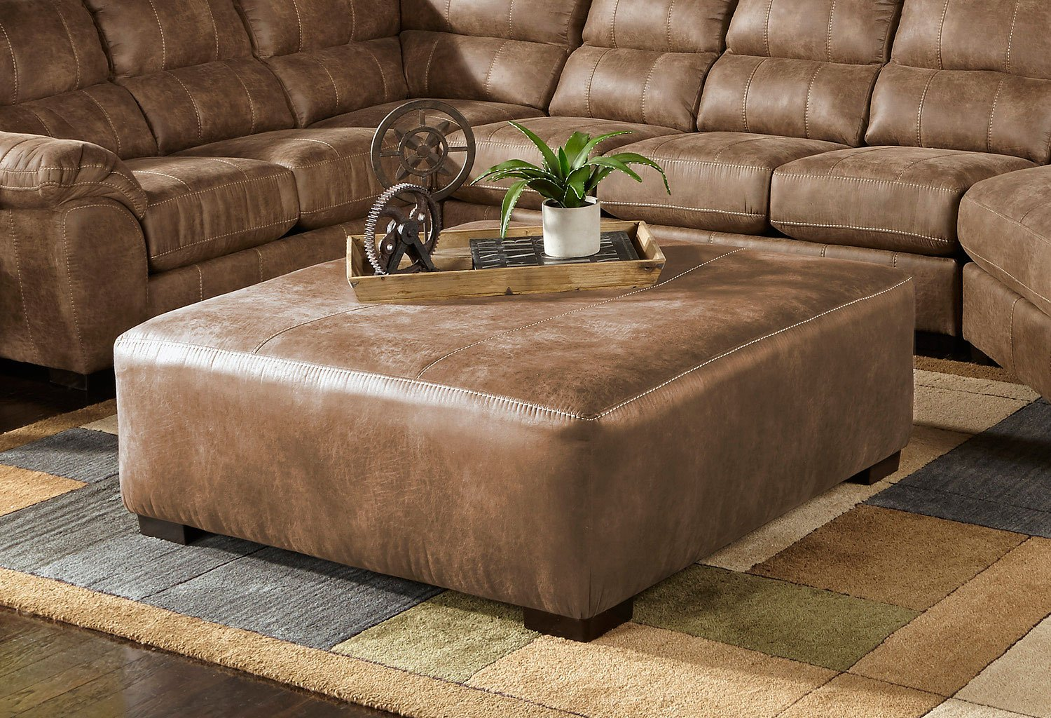 Grant 40 Inch Cocktail Ottoman Silt Jackson Furniture