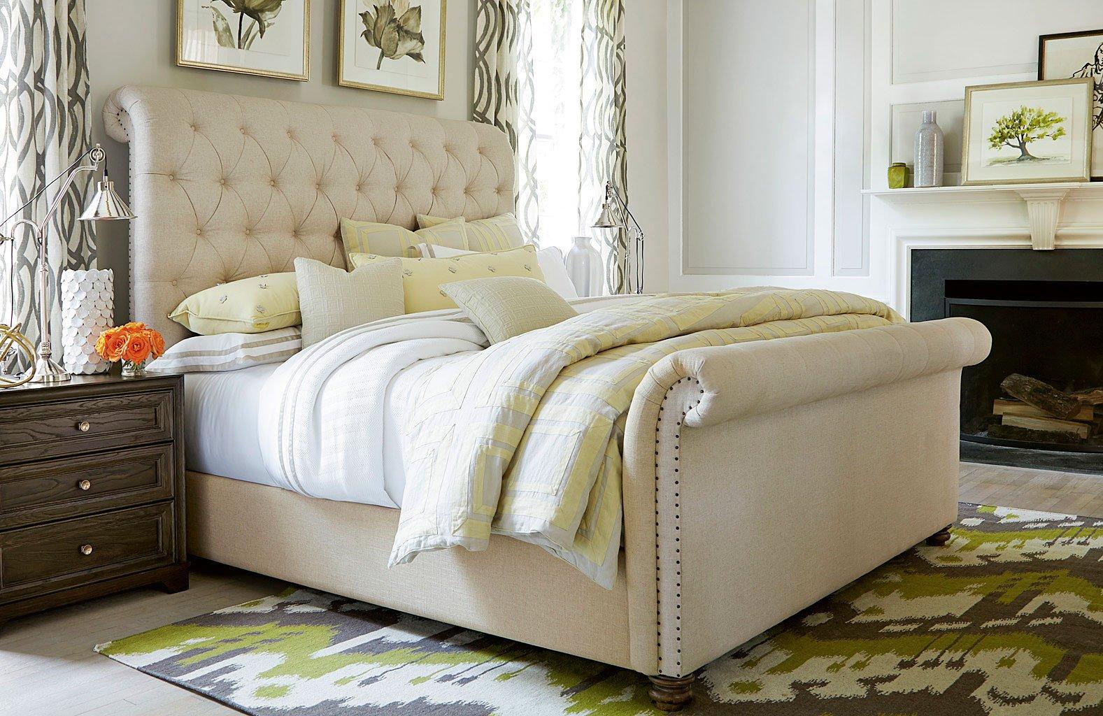 California Bedroom Set W/ Boho Chic Bed (Hollywood Hills