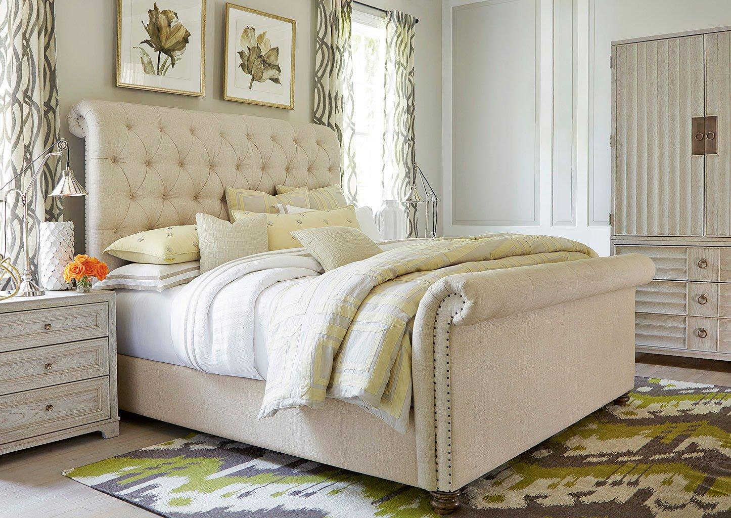California Bedroom Set W Boho Chic Bed Malibu Universal