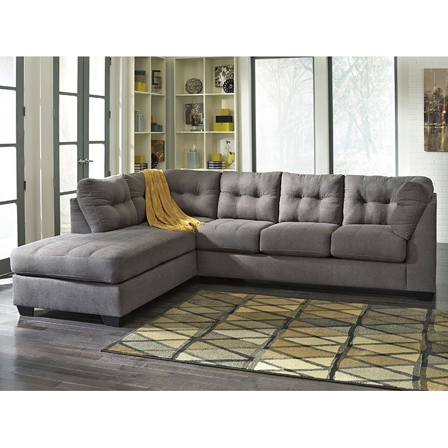 Maier Charcoal Left Chaise Sectional