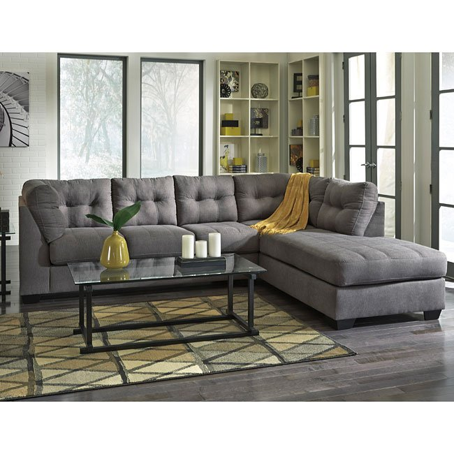 Maier Charcoal Sectional Set