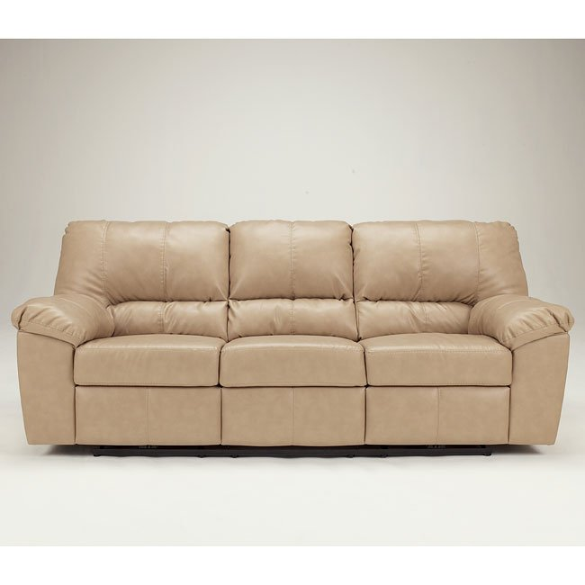 DuraBlend - Natural Reclining Sofa w/ Power