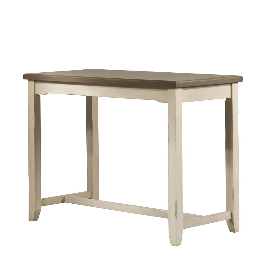 Clarion Counter Height Side Table Sea White Hillsdale