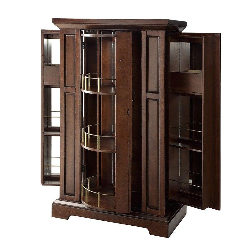 Snifter Wine Cabinet W Lock