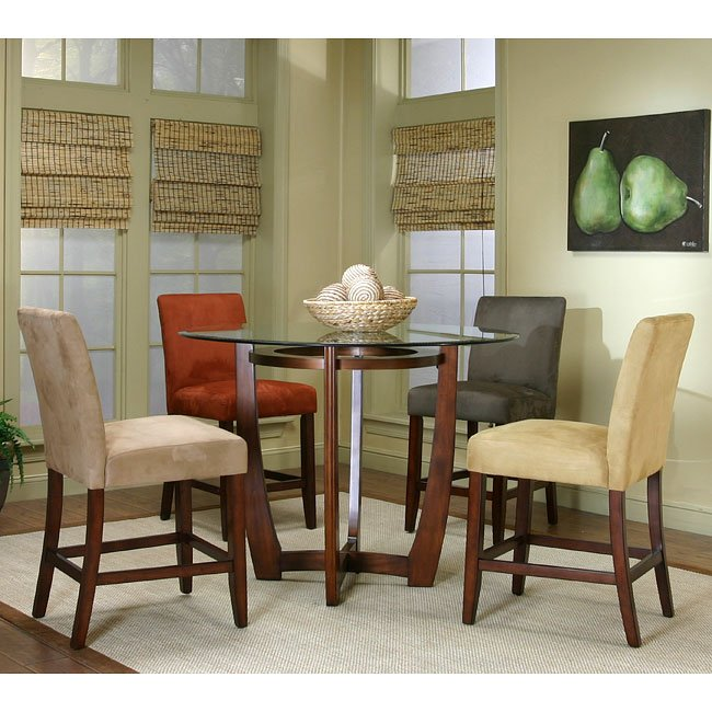 Ashley Furniture Upc Barcode: Parkwood Counter Height Dinette W/ 4 Chair Color Choices