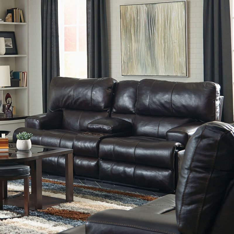 Wembley Lay Flat Reclining Living Room Set Chocolate