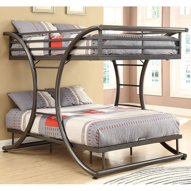 Gunmetal Bunk Bed
