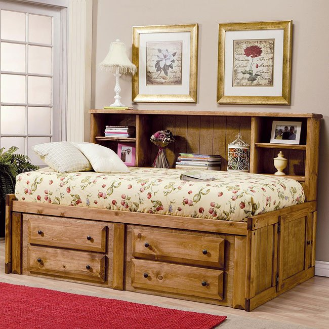 Wrangle Hill Youth Bookcase Daybed