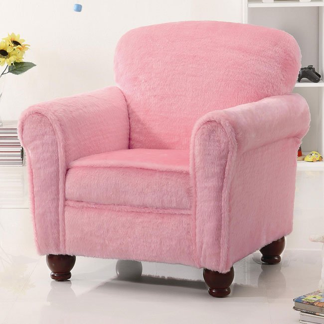 Pleasant Pink Kids Lounge Chair Inzonedesignstudio Interior Chair Design Inzonedesignstudiocom