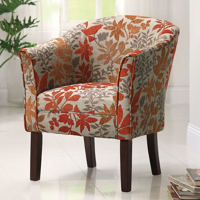 Autumn Leaves Accent Chair Coaster Furniture