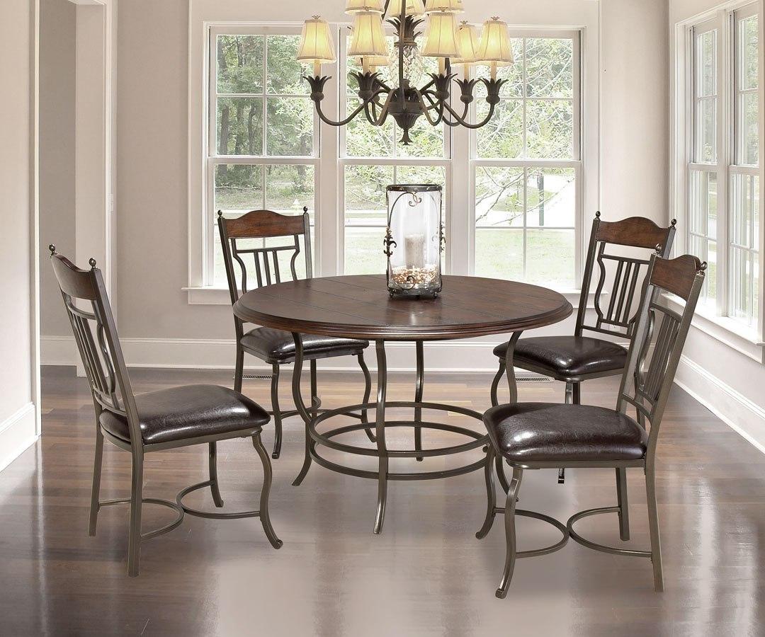 Ashley Furniture Manchester Nh: Midland Round Dining Room Set Bernards