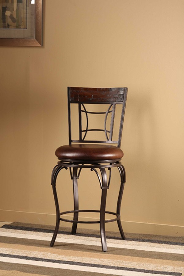 Granada Swivel Counter Height Stool Hillsdale Furniture