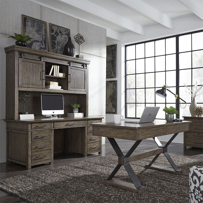 Sonoma Road Home Office Set Liberty Furniture