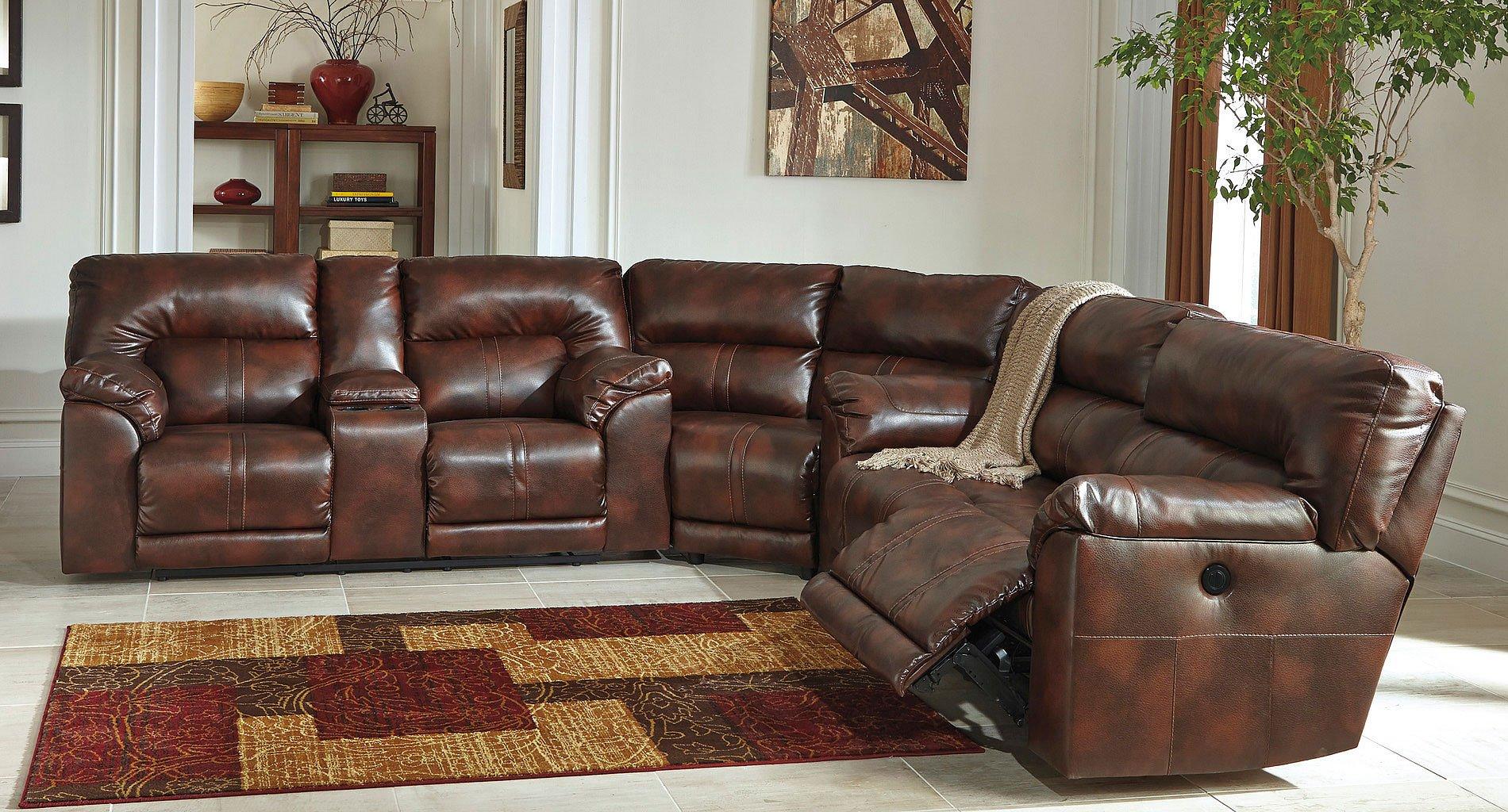Barrettsville DuraBlend Sectional BenchCraft | Furniture Cart