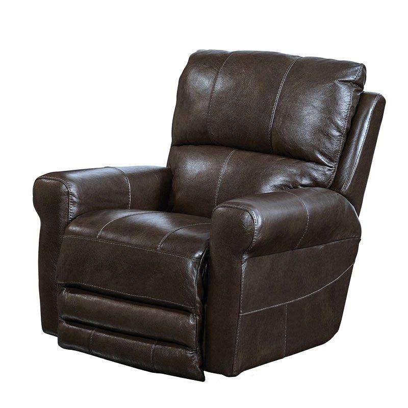 hoffner swivel glider recliner chocolate catnapper furniture cart
